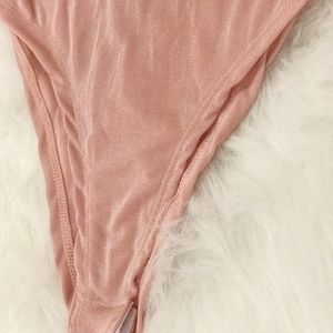 Miley + Molly Tops - NEW Mikey + Molley Ruffled Pink Body Suit
